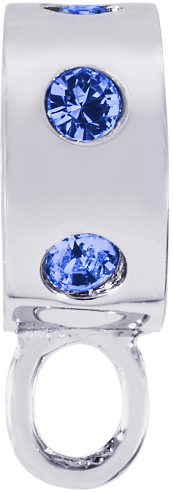 Rembrandt Blue Synthetic Stones CharmDrop (Choose Metal)