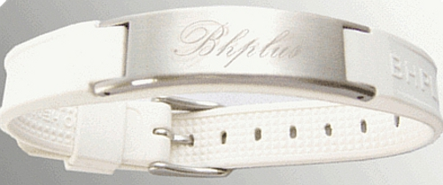 Saint Plus - White - Magnetic Therapy Bracelet (Mens) (SP003) - DISCONTINUED