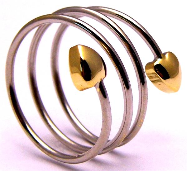 Combo Spiral - Magnetic Therapy Ring (FR3)