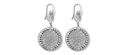 Officina Bernardi - Sole Collection - Disc Earrings (4 Color Choice) - Italian 925 Sterling Silver