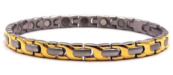 Gentle Kisses - Stainless Steel Magnetic Therapy Bracelet