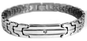 Presidente - Stainless Steel Magnetic Therapy Bracelet (CSS-17) - DISCONTINUED