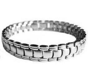 Devotion - Stainless Steel Magnetic Therapy Bracelet (CSS-25)