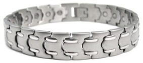 Executive - Stainless Steel Magnetic Therapy Bracelet (CSS-27)
