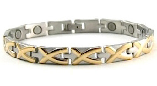 Adoration - Stainless Steel Magnetic Therapy Bracelet (CSS-45)