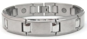 Vegas - Stainless Steel Magnetic Therapy Bracelet (CSS-61)