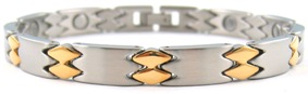 Golden Darts - Stainless Steel Magnetic Therapy Bracelet