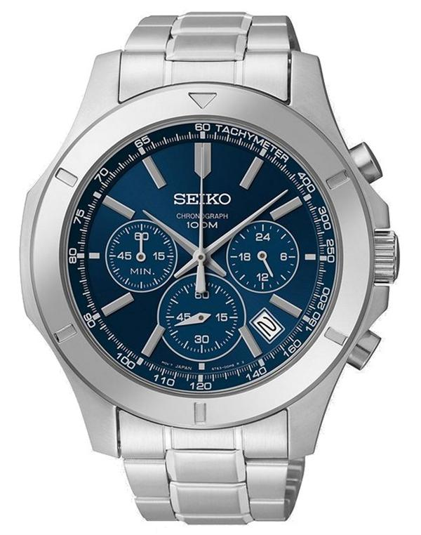 Seiko Chronograph SSB103 - Quartz Seiko Watch (Men's) - DISCONTINUED