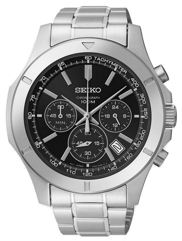 Seiko Chronograph SSB105 - Quartz Seiko Watch (Men's) - DISCONTINUED