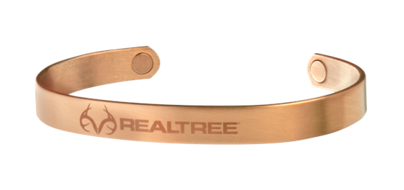 Sabona Realtree Brushed Copper Wristband (440)