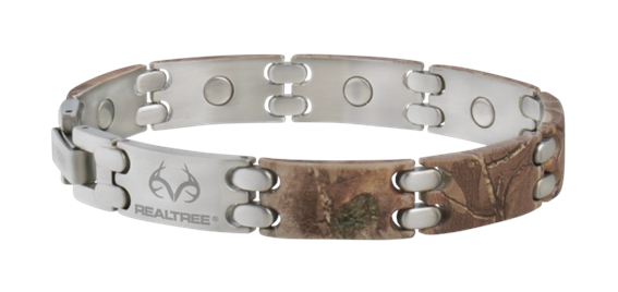 Sabona Realtree(r) Camo Stainless Sport Magnetic - Mens Bracelet (445)