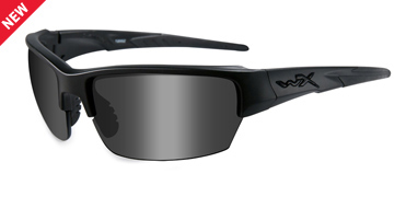 Wiley X Sunglasses - Saint Black Ops/Matte Black with Smoke Grey Lens - Changeable Series