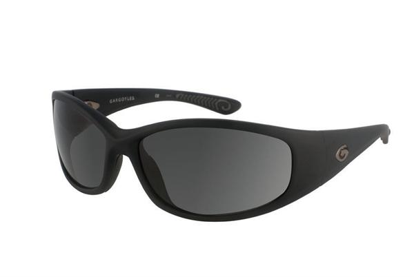 Gargoyles Sunglasses - Shakedown Black with Smoke Polarized Lens - Instinct Collection - DISCONTINUED