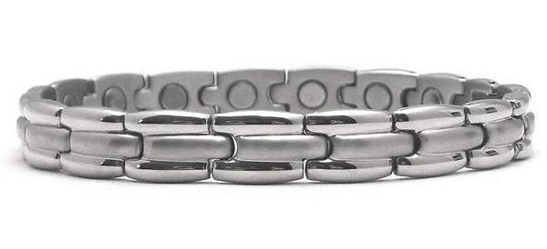 Silver Lady - Stainless Steel Magnetic Therapy Bracelet