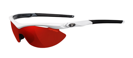 Tifosi Sunglasses - Slip White/Gunmetal with Clarion Mirror Lens