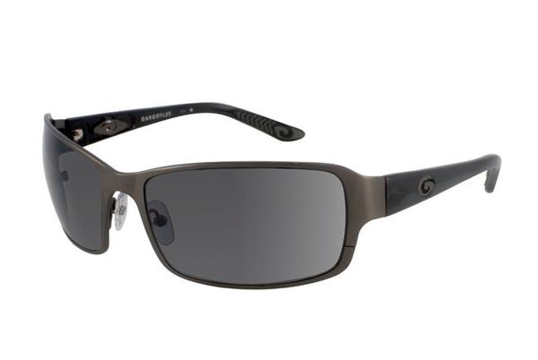 Gargoyles Sunglasses - The Steward Gun with Smoke Polarized Lens - Classic Collection - DISCONTINUED