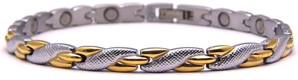Twisted Embrace - Pure Titanium Magnetic Therapy Bracelet