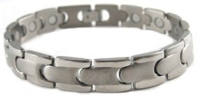 Courage - Titanium Magnetic Therapy Bracelet (CTT-005) - NEW!