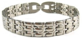 Certainty - Titanium Magnetic Therapy Bracelet (CTT-013) - NEW!