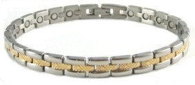Delicate Power - Titanium Magnetic Therapy Bracelet (CTT-018) - NEW! - DISCONTINUED
