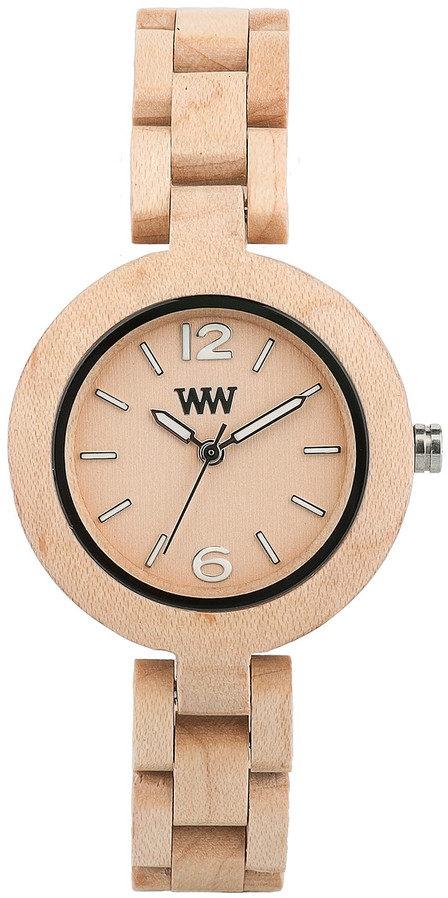 WeWood Wooden Watch - Mimosa Beige (wwood50m)