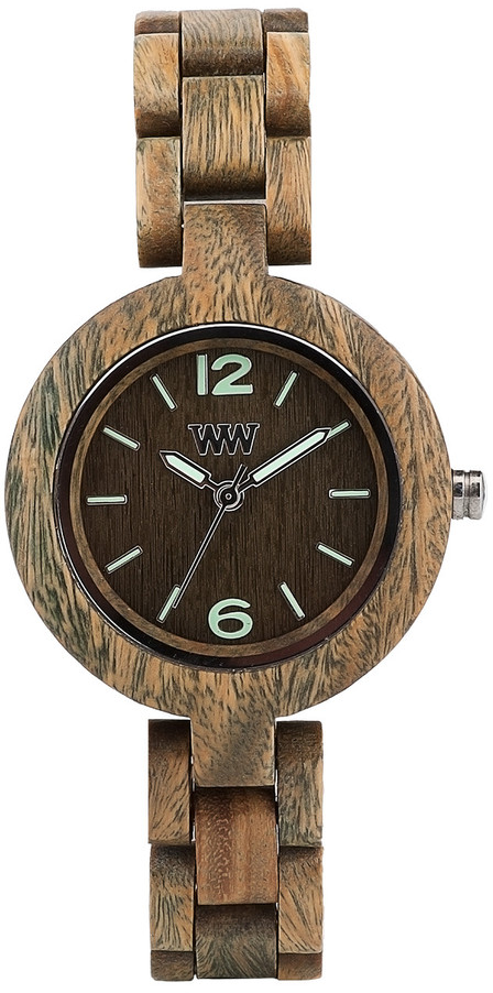 WeWood Wooden Watch - Mimosa Army