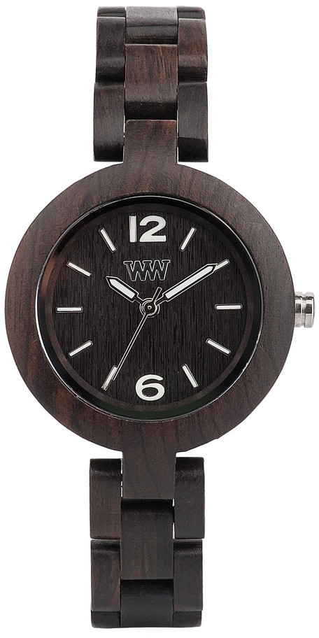 WeWood Wooden Watch - Mimosa Black (wwood60m)