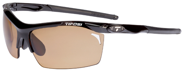 Tifosi Sunglasses - Tempt Gloss Black - Fototec (Light-Adjusting) Polarized - DISCONTINUED