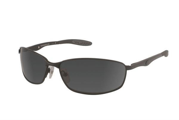 Gargoyles Sunglasses - Traction Black with Smoke Polarized Lens - Classic Collection - DISCONTINUED