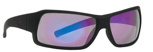 Anarchy Sunglasses - Transfer Black with Purple Mirror - DISCONTINUED