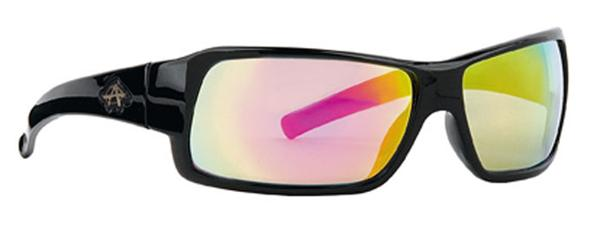 Anarchy Sunglasses - Transfer Black with Sunburst Mirror - DISCONTINUED