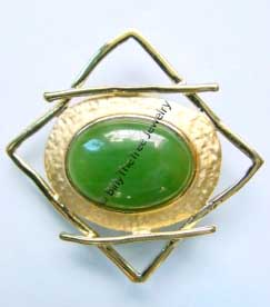 Jade Brooch (B0004) - DISCONTINUED