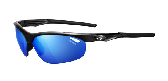 Tifosi Sunglasses - Veloce Gloss Black with Clarion Mirror Lens - New!