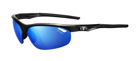 Tifosi Sunglasses - Veloce Gloss Black with Clarion Mirror Lens - Golf & Tennis Edition - New!