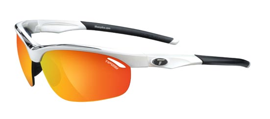 Tifosi Sunglasses - Veloce White / Black - Golf & Tennis Edition