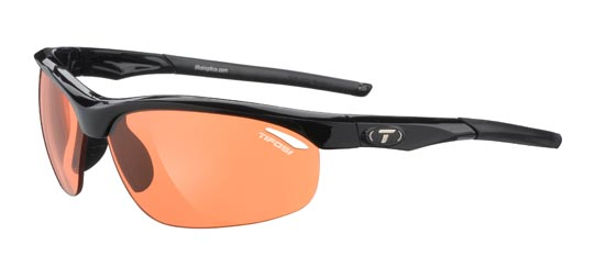 Tifosi Sunglasses - Veloce Gloss Black - Fototec (Light-Adjusting) - DISCONTINUED