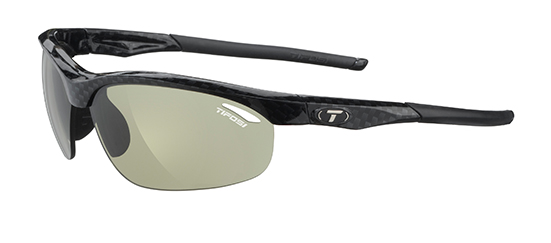Tifosi Sunglasses - Veloce Gloss Carbon - Fototec (Light-Adjusting)