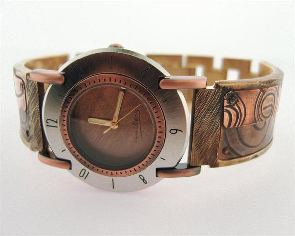 Large Full Moon - WatchCraft (R) Handmade Watch (WFMCV2)