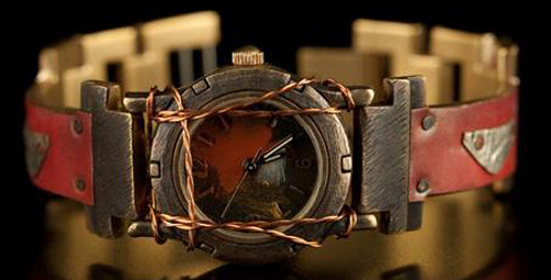 Small Porthole - WatchCraft (R) Handmade Watch (SP24)