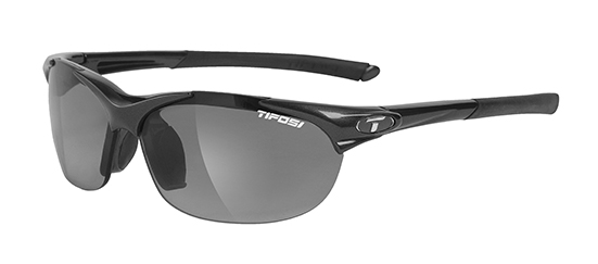 Tifosi Sunglasses - Wisp Gloss Black - Fototec (Light-Adjusting)