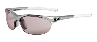 Tifosi Sunglasses - Wisp Matte Silver - Fototec (Light-Adjusting) - DISCONTINUED