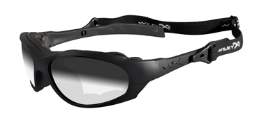 Wiley X Sunglasses - XL-1 Matte Black with Light Adjusting Smoke Grey Lens - Changeable Series - DISCONTINUED