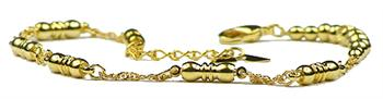 Globes of Gold - Magnetic Therapy Anklet (A-1400)