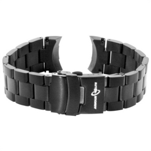 ArmourLite - Replacement Black Stainless Steel Bracelet AL200BLK for Colorburst Series Watches (22mm)