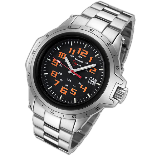ArmourLite Tritium Watch - ColorBurst Series Stainless Steel AL211