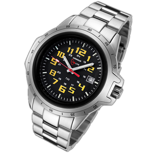 ArmourLite Tritium Watch - ColorBurst Series Stainless Steel AL214 - DISCONTINUED