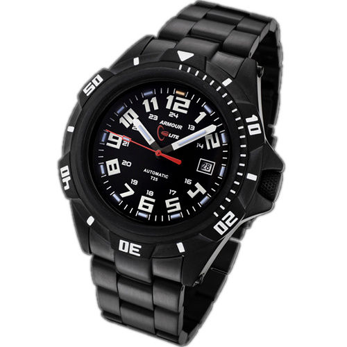 ArmourLite Tritium Watch - Automatic Series Stainless Steel AL401 - DISCONTINUED