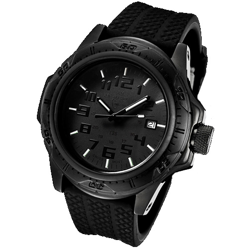 ArmourLite Tritium Watch - Professional Series Rubber Band AL41
