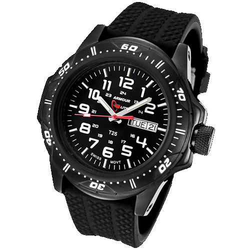 ArmourLite Tritium Watch - Professional Series Rubber Band AL53 - DISCONTINUED