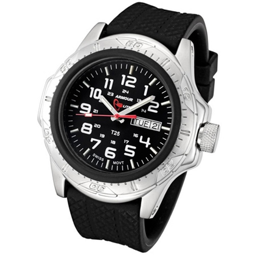 ArmourLite Tritium Watch - Professional Series Rubber Band AL55